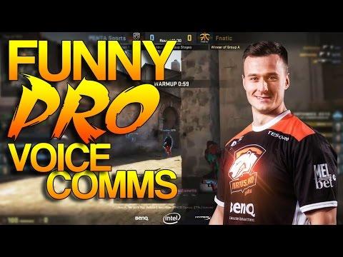 CS:GO - Funny PRO Voice Comms! #2