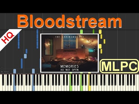 The Chainsmokers  Bloodstream I Piano Tutorial & Sheets  MLPC
