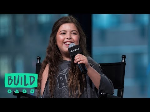 "Sophia Grace on ""A Girl in the Mirror"" 
