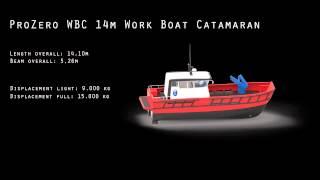 ProZero WBC 14m Work Boat Catamaran