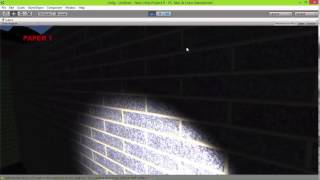 slender juego final y juego tipo buscar objetos en la UPN-UNITY 3D