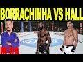Borrachinha Vs Hall UFC 226 Card Principal Análise  7 de julho