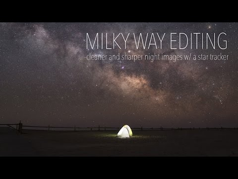 Advance Milky Way Editing - Blending Star Tracker Skies with foregrounds for cleaner night images!