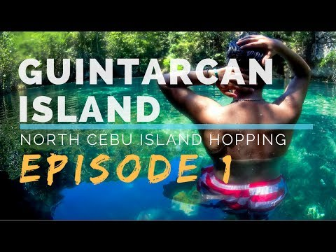 GUINTARCAN ISLAND | Northern Cebu Island Hopping Episode 1| Travel Vlog
