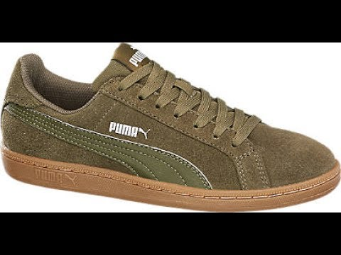 Puma Smash Sd Olive Sneakers