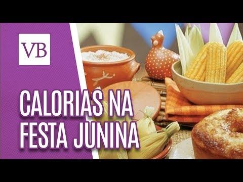 Calorias das Comidas de Festa Junina - Você Bonita (15/06/18)
