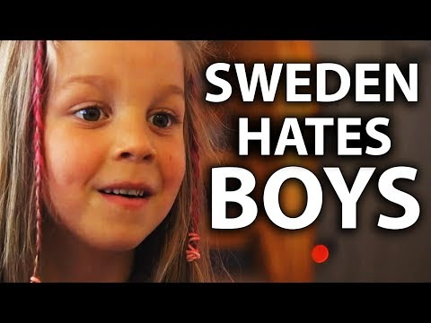 Sweden's Feminizing Boys with Genderless Schools