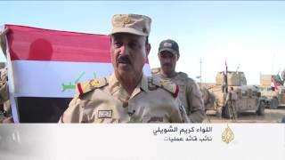 تنظيم الدولة ينسحب أمام القوات العراقية شرق القيارة