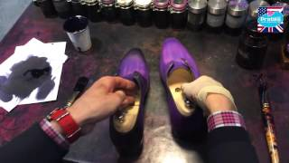 How to paint and shine your shoes