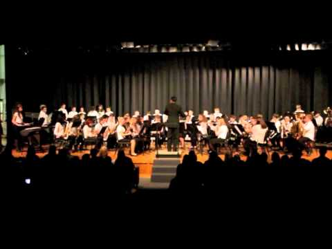"""JWMS 7th/8th Grade Band """"Air Force One"""" 1-16-14"""