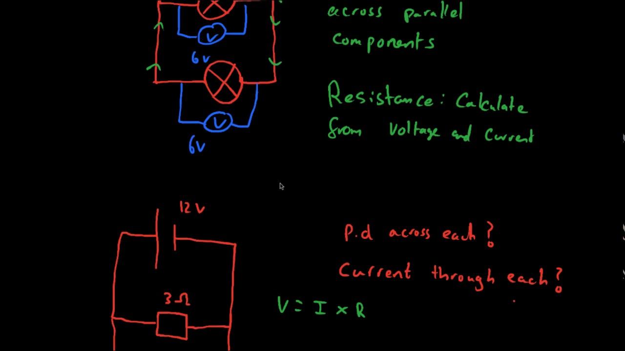 parallel circuits aqa gcse physics youtube rh youtube com
