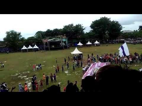 Sambutan laskar benteng viola untuk thejak mania di acara aniversary lbv 16 tuhun #MAR16ERSATU