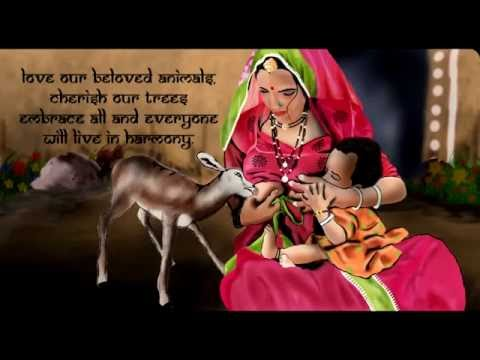 KHEJARLI | An Animated Rajasthani Film Based on a TRUE STORY 1760 A.D. | THE TREE HUGGER