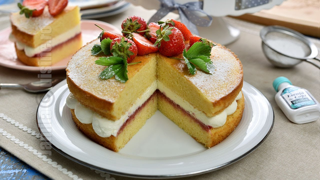 Victoria sponge cake | JamilaCuisine
