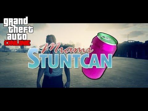 Gta 5 Online - Fake Advert Miami StuntCan Energy Drink (HILARIOUS VIDEO)