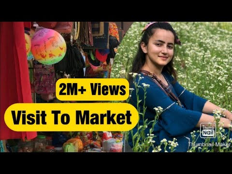 Visiting Market After Long Time    Beautiful Town in Himachal    Small Town    Apple Orchard