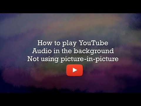 How To Play YouTube Audio In The Background On IPad Pro IOS 12