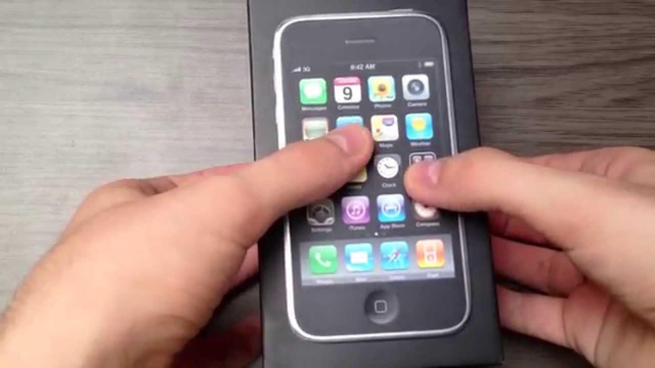 Оригинальный iphone 3gs с Aliexpress (Китай) за 50$ - YouTube