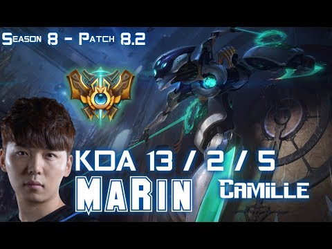 MaRin CAMILLE vs MALPHITE Top - Patch 8.2 KR Ranked