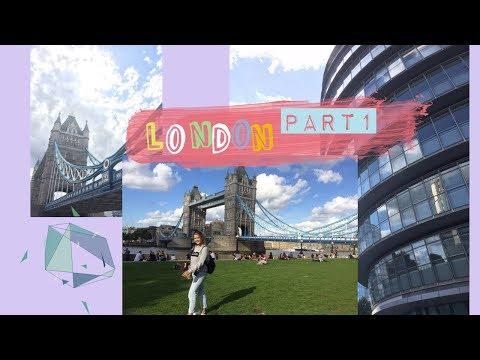 Переехала в Лондон// EF School//Первые Дни в Англии