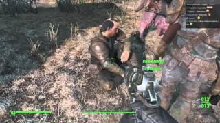 Fallout 4 17 Гнездо Гулей, Антирадиационный 10-мм Пистолет, Стелс-бой, Супермаркет day4