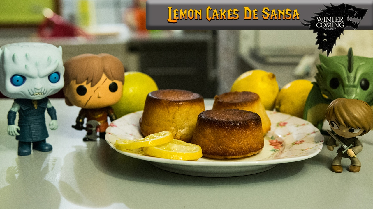 Sansa Lemon Cakes