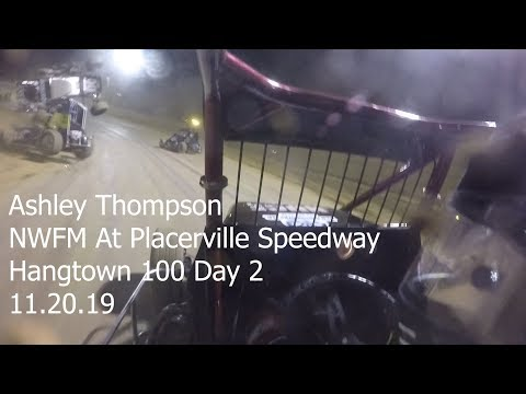 Ashley Thompson at Placerville Speedway:Hangtown 100 Day 2