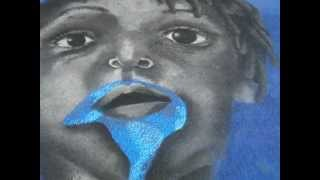 Blue Boy 2 Lake Worth Street Painting 2011