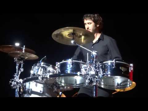 Josh Groban Rocks the Drums at Bethel Woods 8.23.14