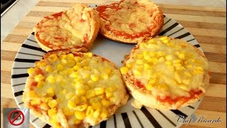 How To Make Pizza At Home Using Burger Buns | Recipes By Chef Ricardo