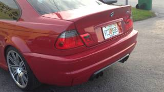 for sale imola red red e46 m3 2003 6 speed coupe 36k miles
