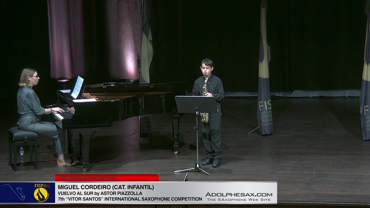 FIS PALMELA 2019   Miguel Cordeiro   Vuelvo al sur by Astor Piazolla