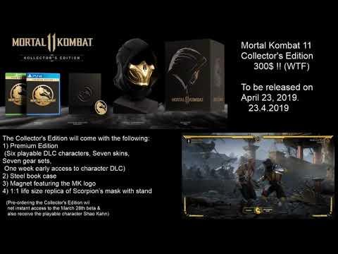 Mortal Kombat  Collector&#;s Edition ($! pre-review) GameStop