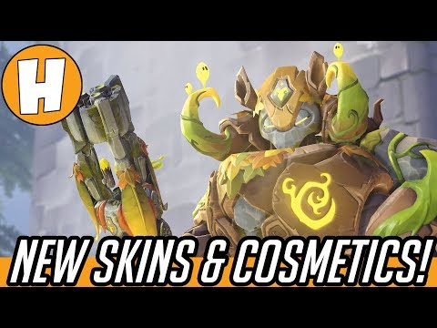 Overwatch Anniversary 2018 - ALL NEW Skins, Dance Emotes + Voice Lines! | Hammeh