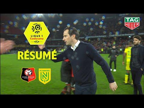 Stade Rennais FC - FC Nantes ( 3-2 ) - Résumé - (SRFC - FCN) / 2019-20