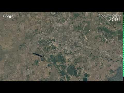 Google Timelapse: Tianjin, China