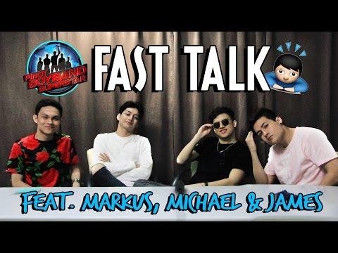 FAST TALK w Markus Paterson, Michael Diamse & James Ryan Cesena!
