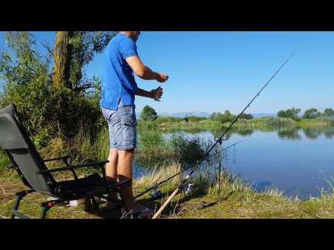 Pescuit pe râul Olt la feeder!