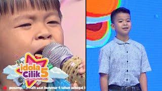 Adit, adik Abnar pernah nyanyi di Idola CIlik 2 [Idola Cilik 5] [26 Des 2015]