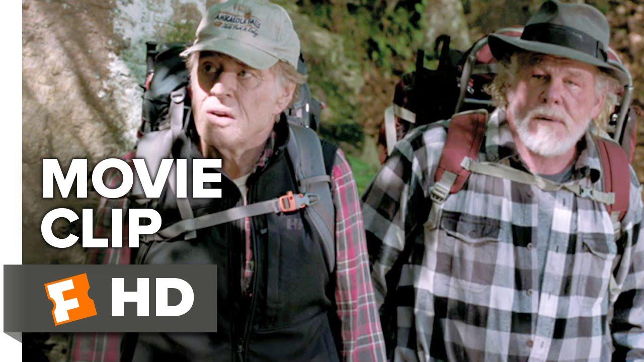 A Walk in the Woods Movie CLIP - Stream Crossing (2015) - Robert Redford Adventure Movie HD