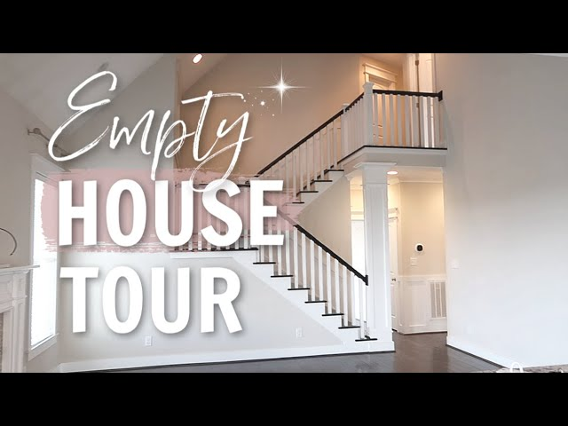 WE MOVED INTO OUR DREAM HOUSE! // EMPTY HOUSE TOUR 2020 // Simply Allie