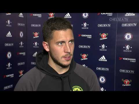 HAZARD: It was a great team performance tonight