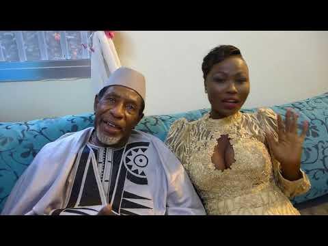 ( vidéo) L'artiste-comédien Lamine Ndiaye épouse Yacine Mboup . L'auteur  Maa Tay Nob