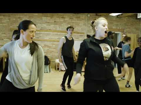 """Rehearsal of """"You Can't Stop the Beat"""" for HAIRSPRAY at Skylight Music Theatre"""