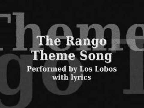 Rango Theme Song w/ lyrics [onscreen]