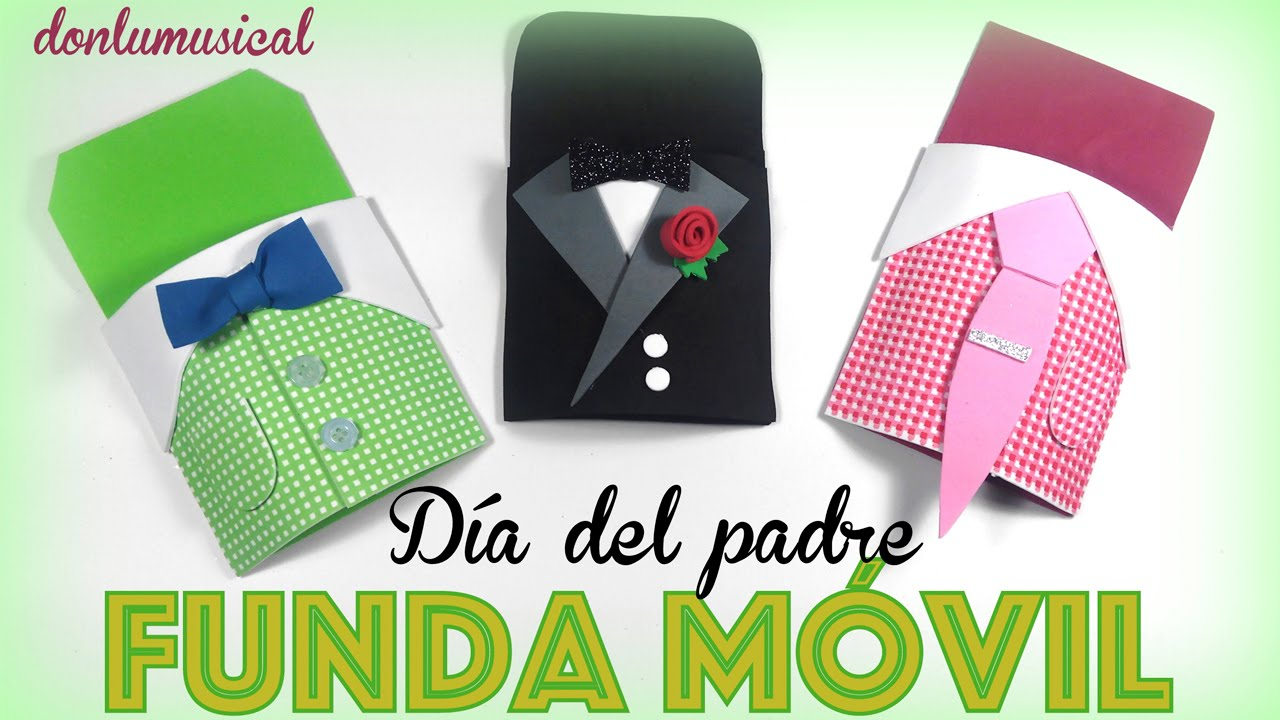 Funda Movil De Goma Eva Dia Del Padre Youtube