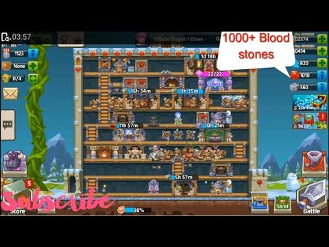 Monster Castle : how to earn 1000 bloodstones pretty fast...