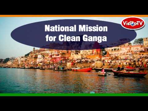 Nitin Gadkari gets huge support for Clean Ganga Mission from UK investors. Vision TV World.