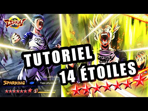 Avoir TRUNKS Legends Road 14 ÉTOILES Facilement - DRAGON BALL LEGENDS