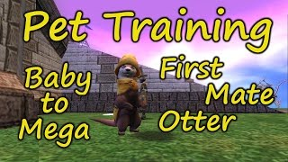 Wizard101: Pet Training - Otter, Baby To Mega, Which Mega Snacks Work Best